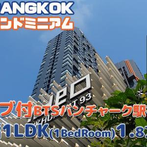 バスタブ付の1LDK【動画でカンタンバンコク部屋さがし】