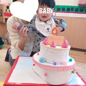 11m26d❀子育てサロンのお誕生日会とばあばからのお誕生日プレゼント♡