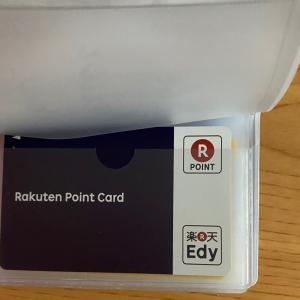 カード類の収納法 変えました