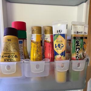 【冷蔵庫収納】チューブが大きくなって収納法を見直しました