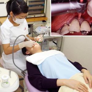 歯科受診は大変でした