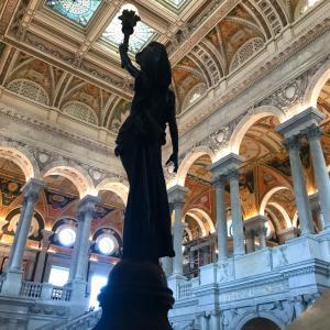 壮麗なるアメリカ議会図書館を見学する