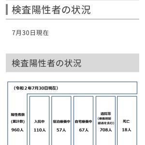 世田谷区内の新型コロナウイルス感染症の検査陽性者は、35人!