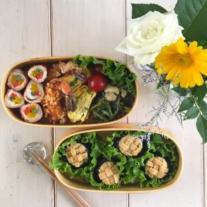 レタスの花おにぎり弁当~お花の定期便が来たよ♪~