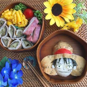 ルフィ弁当と新幹線弁当♪