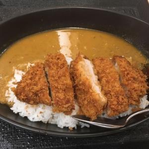 グルメ探訪〜川口『松のや』厚切りロースかつスパイシースープカレー!