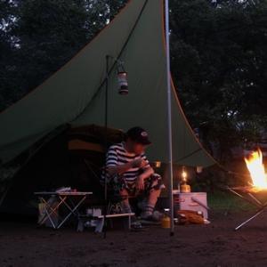 マークXでレインキャンプ at 長瀞オートキャンプ場【その①】!