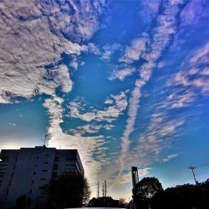 空よ・雲よ!今日から12月