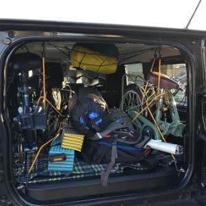 ジムニー車中泊旅 小牧基地オープンベース2019