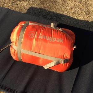1万円で-17度対応!スナグパックの寝袋使用レポート。