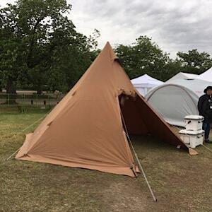 新しいテントを買いました。サーカスTC・・・の代わり。