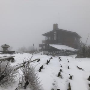 雪の塔ノ岳 平日に大倉尾根ピストンで日帰りトレーニング登山 2020.3.30