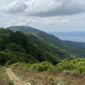 塔ノ岳~三ノ塔 今日も日帰りトレーニング登山 2021.6.13