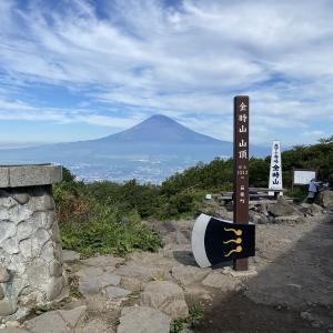金時山~明神ヶ岳① 金時神社入口から登る 2021.7.21