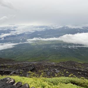 14回目の富士山 須走ルートの大陽館に泊まり、撤退する 2021.8.12~8.13