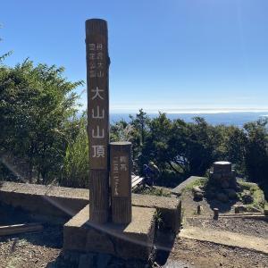 今日も大山詣りへ 2021.9.20