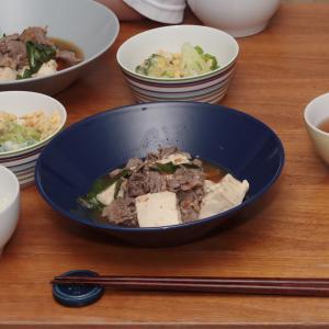 肉豆腐献立と明日のお弁当