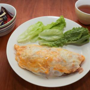 ベトナム風お好み焼き献立と8月の食費