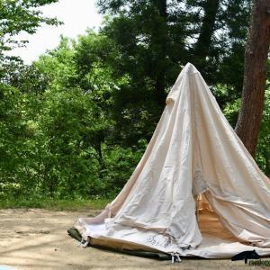 はじめてのキャンプ 1 北欧テント Nordisk