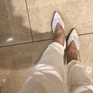 靴売り場の下見で、、 ^^