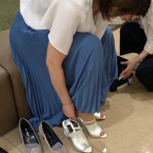 靴の同行ショッピング レポート ~サンダル編~