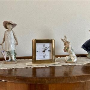 リビングのティファニーの時計