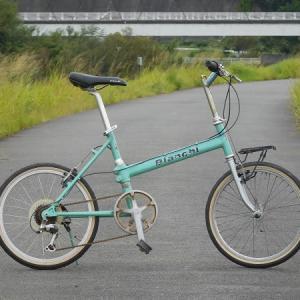 ビアンキ 折畳? 分割フレーム自転車???