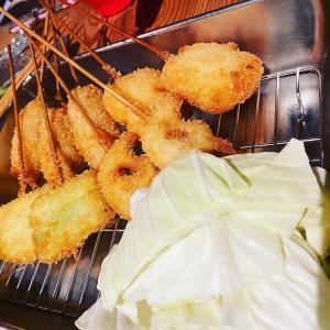 串カツ専門店 JunG39 JAPAN 揚げたてって ほんと美味しい~幸せいっぱい胸いっぱい