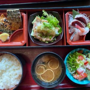焼き魚が食べたくなったら 稻庭養助のランチ 焼き魚定食HKD128 安定のおいしさ