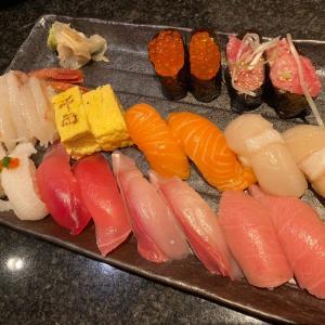 ランチセットがお得~千両 (海港城) お寿司二人前セットが HKD368