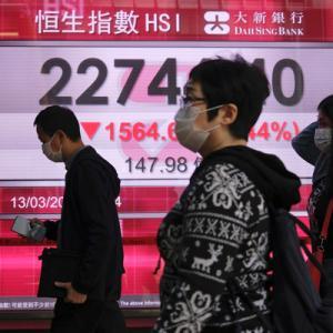 中国恒大集団の債務を巡る懸念 世界の金融市場軒並み下げ下げ~