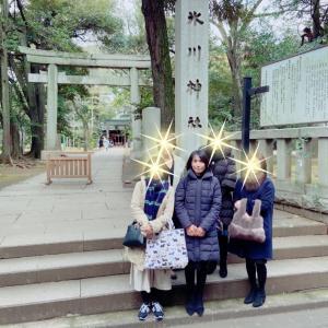 TOKIMEKU会一粒万倍日に『赤坂氷川神社で初詣』
