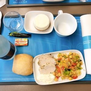 ブリュッセルからロンドンへ【ユーロスター】軽食サービス