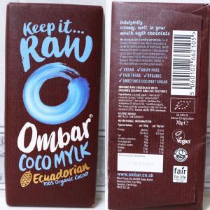 おすすめ【イギリス発】ローカカオでできたチョコレート<Ombar(オームバー)>