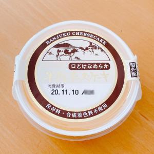 保存料・合成着色料不使用の半熟チーズケーキ♪