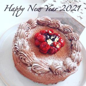 新年早々の糖質オフケーキ