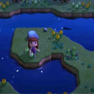 〈あつ森〉離島ツアーでレア花ゲット