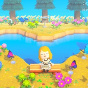 〈あつ森〉ハートの池があるアロマ島の夢番地