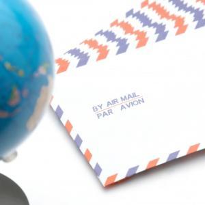 日本からアメリカへの国際郵便状況