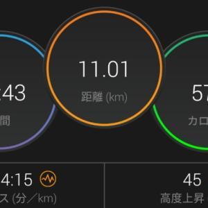 【ラン】体の後ろの筋肉を使って走る【5km×2段+1kmBU】