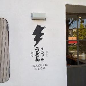 【ランチ】京都らしいおいしいおうどん【イカヅチうどん】