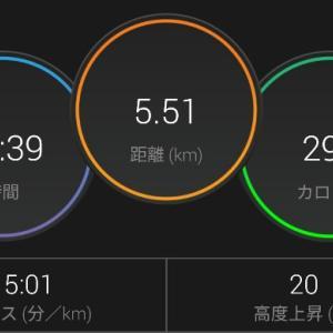 【ラン】運命の日【1km×3インターバル】