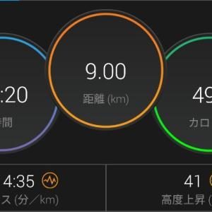 【ラン】雨じゃなかったじゃん・・・【3km×3段BU】