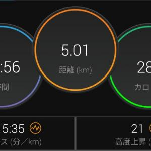 【ラン】長い距離を走らなくても良いと思えば気が楽になった【ジョグ+流し】