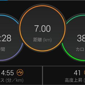 【ラン】3km×3段BUの予行練習【ジョグ】