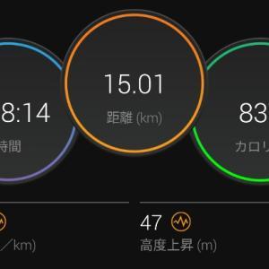 【ラン】秘密の紫の粉【ペース走+1000mインターバル】