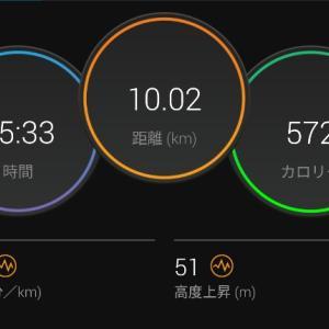 【ラン】大豆パワー【430ジョグ】