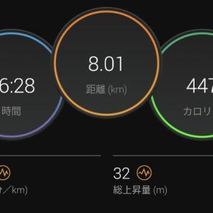 【ラン】趣味はジョグですと言えるレベルじゃね?【ジョグ+5km×2段BU】