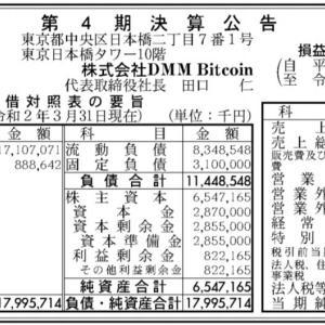 【朗報】仮想通貨取引所DMM Bitcoinさんの決算がこちらwwwwwwww