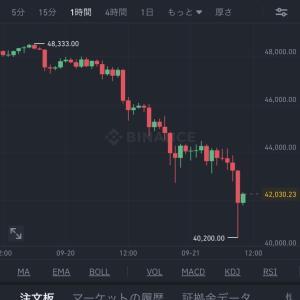【悲報】ビットコイン大暴落wwww【画像あり】